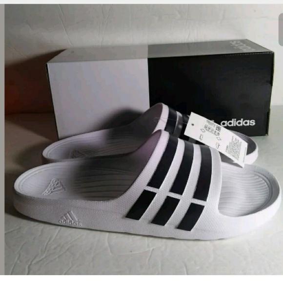 502335b000368 Adidas Duramo Slides Slippers Men Size 12